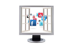 Social networks Royalty Free Stock Images