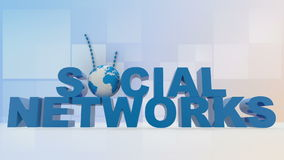 Social networks Royalty Free Stock Photos