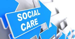 Social omsorg. Fotografering för Bildbyråer