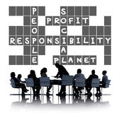 Social Responsibility Reliability Dependability Ethics Concept.  Stock Photography