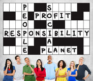 Social Responsibility Reliability Dependability Ethics Concept.  Royalty Free Stock Photo
