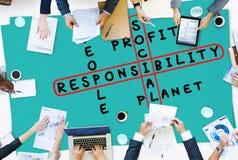 Social Responsibility Reliability Dependability Ethics Concept Royalty Free Stock Photos