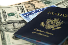 Social Security And Passport Royalty Free Stock Images
