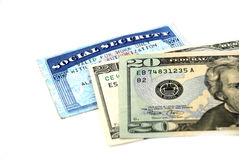 Social security benefits Stock Image