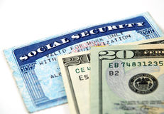 Social security benefits Royalty Free Stock Photo