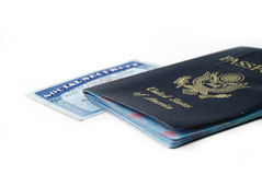 Social security card Stock Photography