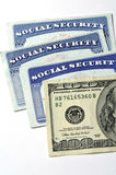Social Security Cards for Identification Stock Photography