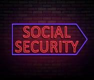 Social security concept. Royalty Free Stock Photos
