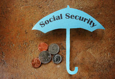 Social Security coverage Stock Photography