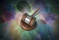 Social Security Law Stock Images