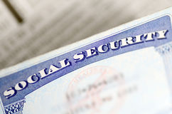 Social Security and retirement income Stock Image