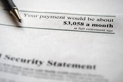 Social Security Statement for Retirement Planning Payment