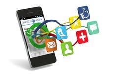Social Sharing stock illustration