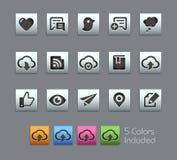Social Sharing and Communications -- Satinbox Series Stock Photography