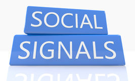 Social Signals Royalty Free Stock Images