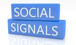 Social Signals Royalty Free Stock Photos