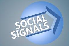 Social Signals Stock Photos
