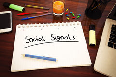 Social Signals Royalty Free Stock Photography