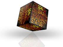 Social Status concepts royalty free stock image