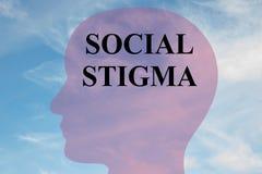 Social Stigma - personality concept Stock Photos