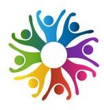 Social teamwork Royalty Free Stock Image