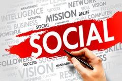 SOCIAL royalty free stock photos