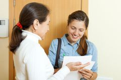 Social worker women Royalty Free Stock Images