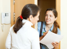 Social worker women Royalty Free Stock Photography