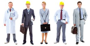 Social workers Stock Images