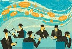 sociala marknadsföringsmedel Arkivfoton