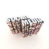 sociala medel Arkivbilder