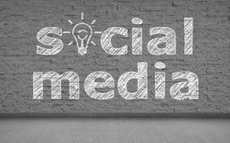 Sociala medier arkivbild