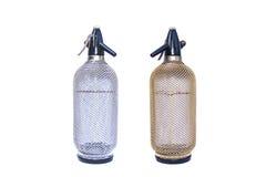 Sociala sodavattenflaskor Royaltyfri Bild