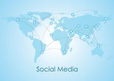Sociale Conceptuele Voorzien van een netwerkmensen Royalty-vrije Stock Fotografie