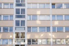 Sociale huisvesting in Berlijn royalty-vrije stock afbeelding