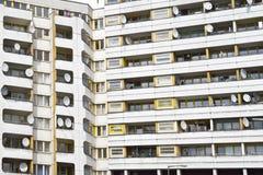 Sociale huisvesting Berlijn stock fotografie