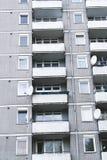 Sociale huisvesting in Berlijn stock afbeeldingen