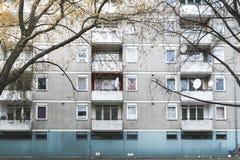 Sociale huisvesting in Berlijn royalty-vrije stock fotografie