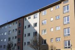 Sociale huisvesting in Berlin Kreuzberg stock fotografie