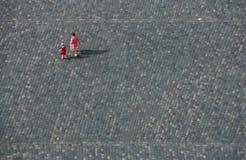 Sociale isolatie, ballingschap Stock Foto's