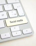 Sociale media Stock Foto