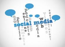 Sociale media Vector Illustratie