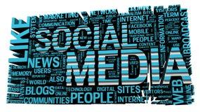 Sociale Media Royalty-vrije Stock Afbeeldingen