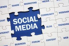 Sociale Media royalty-vrije stock fotografie