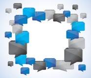 Sociale media achtergrond vector illustratie