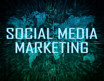 Sociale media Marketing Royalty-vrije Stock Afbeeldingen