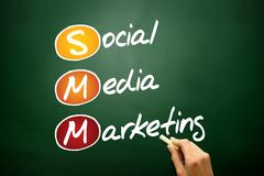 Sociale media Marketing stock afbeelding