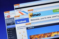 Sociale media websites