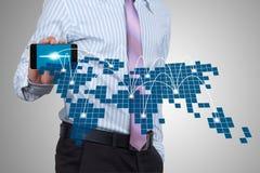 Sociale netwerken. Stock Foto