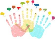 Sociale netwerken royalty-vrije illustratie